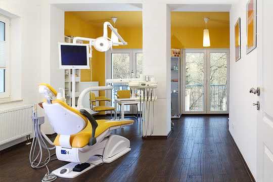 Neu eingerichtete Zahnarztpraxis