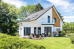 Vermögensplanung - Neues Einfamilienhaus im Grünen